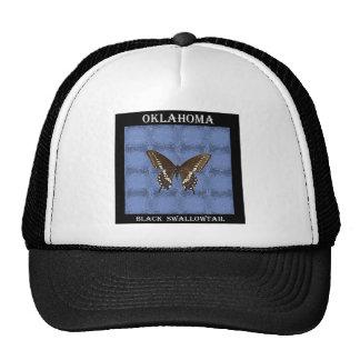 Oklahoma Black Swallowtail Butterfly Mesh Hats