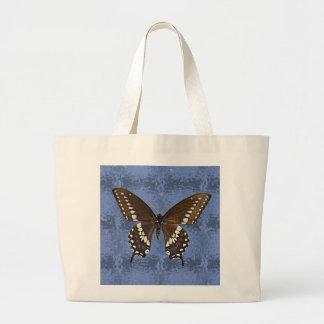 Oklahoma Black Swallowtail Butterfly Jumbo Tote Bag