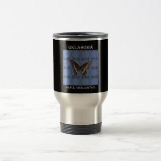 Oklahoma Black Swallowtail Butterfly Mug