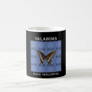 Oklahoma Black Swallowtail Butterfly Coffee Mugs