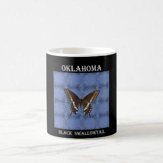 Oklahoma Black Swallowtail Butterfly Mugs