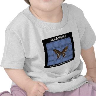 Oklahoma Black Swallowtail Butterfly Tee Shirt