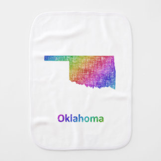 Oklahoma Burp Cloth