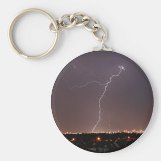 Oklahoma City Lightning Keychain