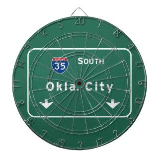 Oklahoma City ok Interstate Highway Freeway : Dartboards
