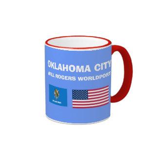 Oklahoma City* OKC Airport Mug