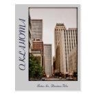 Oklahoma, Downtown Tulsa, Boston Ave, Postcard