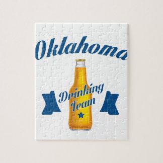 Oklahoma Drinking team Jigsaw Puzzle