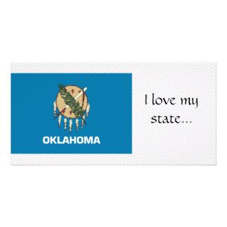 Oklahoma Flag Photo Card