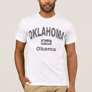Oklahoma for Barack Obama T-Shirt