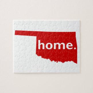 Oklahoma Home Puzzle