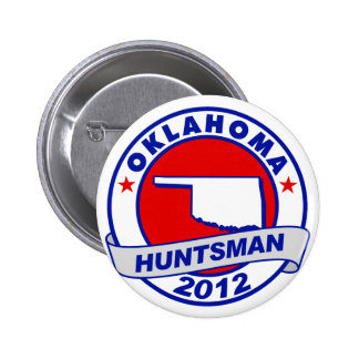 Oklahoma Jon Huntsman Pin
