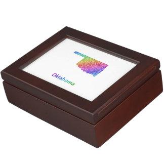 Oklahoma Keepsake Box
