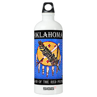 Oklahoma Land of the Red People Water Bottle