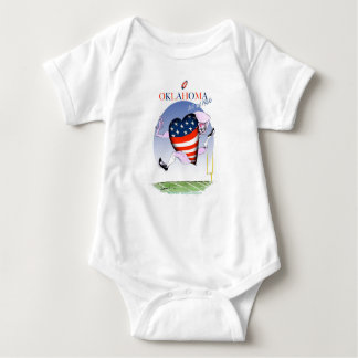 oklahoma loud and proud, tony fernandes baby bodysuit