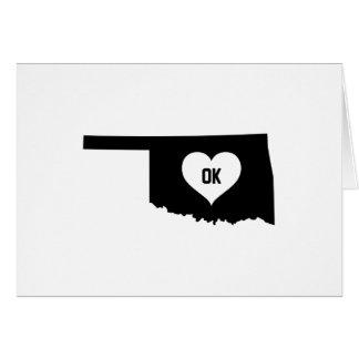 Oklahoma Love Card