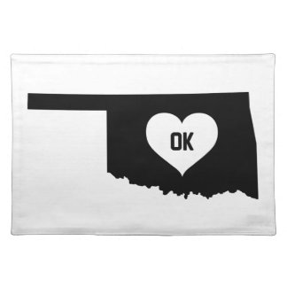 Oklahoma Love Placemat