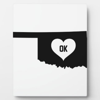 Oklahoma Love Plaque