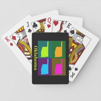 Oklahoma Map Playing Cards