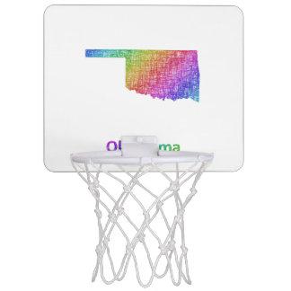 Oklahoma Mini Basketball Hoop