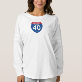 Oklahoma OK I-40 Interstate Highway Shield -
