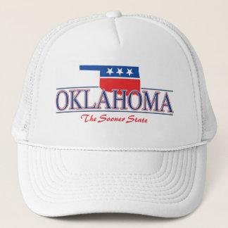 Oklahoma Patriotic Hat