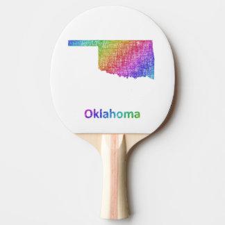 Oklahoma Ping Pong Paddle