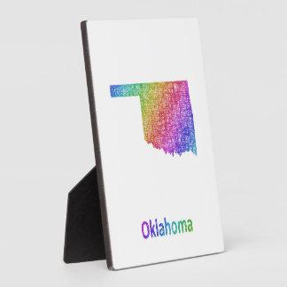Oklahoma Plaque