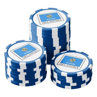 Oklahoma Poker Chips