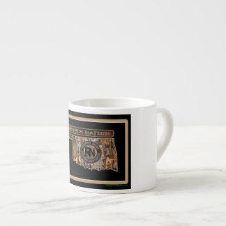 Oklahoma Rig Up Camo Espresso Cup
