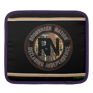Oklahoma RIG UP CAMO iPad Sleeve