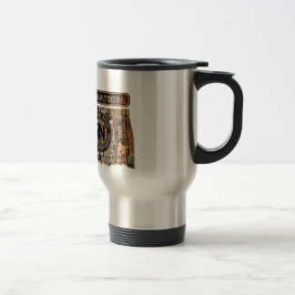 OKLAHOMA RIG UP CAMO TRAVEL MUG