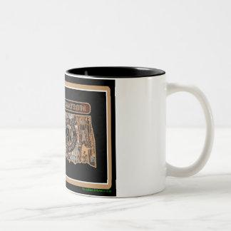 Oklahoma Rig Up Camo Two-Tone Coffee Mug