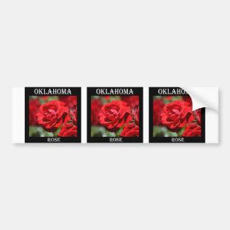 Oklahoma Rose Bumper Sticker