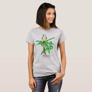 Oklahoma Scissor Tailed Flycatcher Bird T-Shirt