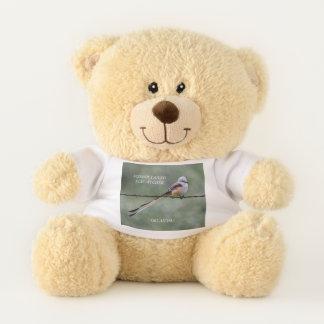 Oklahoma  State Bird Teddy Bear