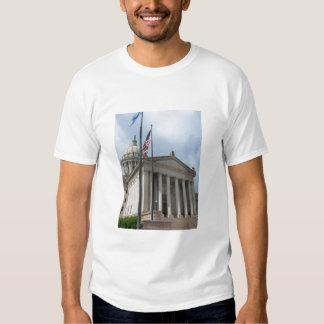 Oklahoma State Capital By Tina Shirts