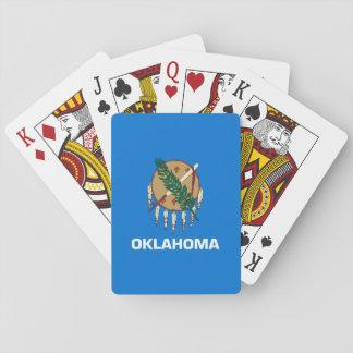 Oklahoma State Flag Design Decor Poker Deck