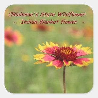 Oklahoma State Flower Stickers
