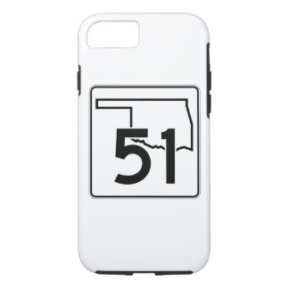 Oklahoma State Highway 51 iPhone 8/7 Case