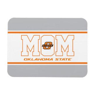 Oklahoma State Mom Rectangular Photo Magnet