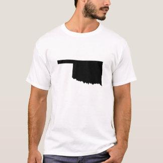 Oklahoma State Outline T-Shirt