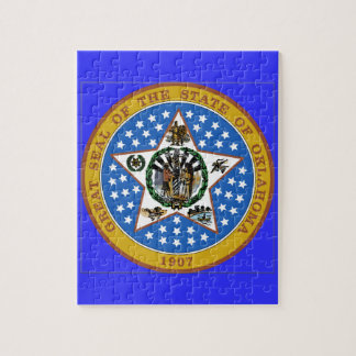 Oklahoma State Seal Puzzles