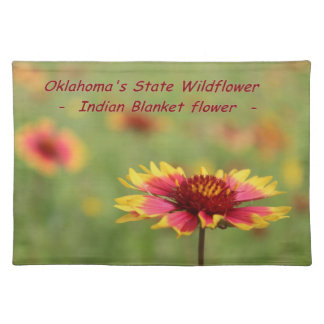 Oklahoma State Wildflower Placemat