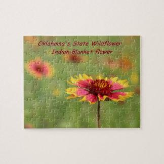 Oklahoma State Wildflower Puzzle