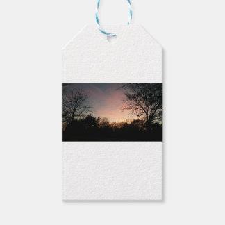 Oklahoma Sunset Gift Tags