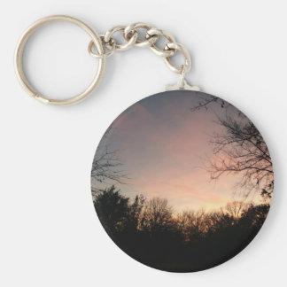 Oklahoma Sunset Key Ring