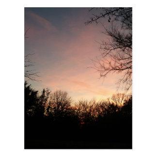 Oklahoma Sunset Postcard