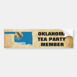 OKLAHOMA TEA PARTY BUMPER STICKER