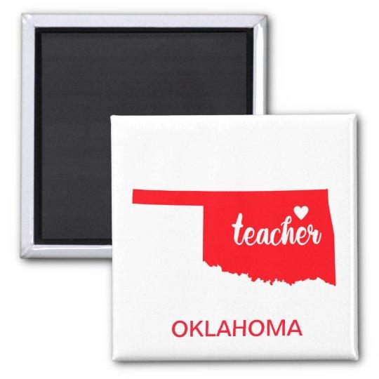 Oklahoma Teacher Magnet